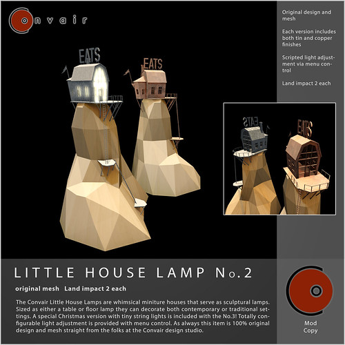 CONVAIR Little House Lamp No2 AD | by Convair Design