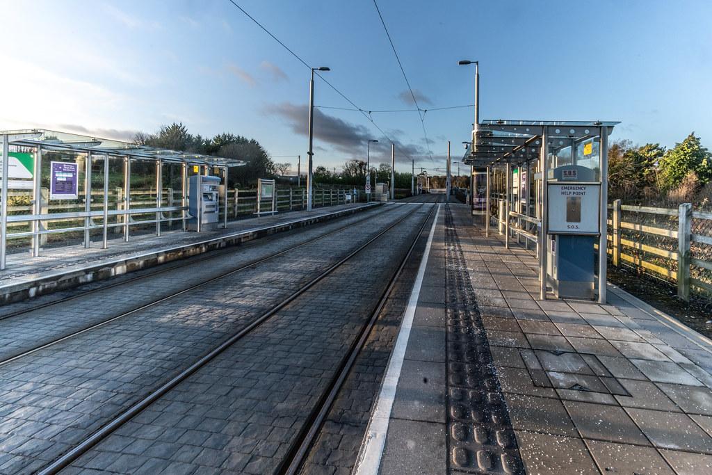 LAUGHANSTOWN TRAN STOP IN DUBLIN 002