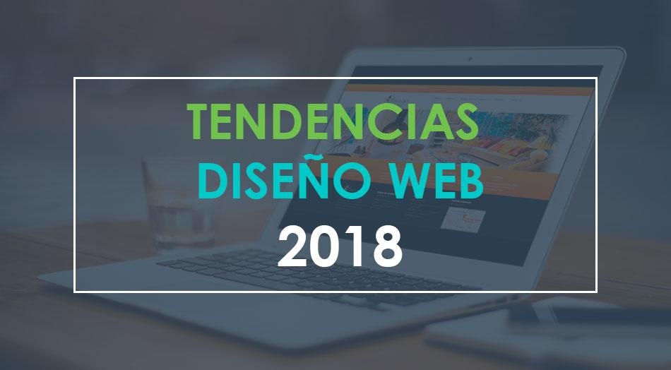 Principales Tendencias en Diseño Web 2018