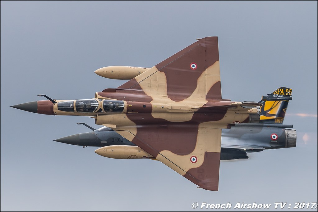 Couteau Delta Tactical Display - Mirage 2000 D , patrouille de l'armée de l'air , couteau delta 2017 , Royal International Air Tattoo 2017 , Air Tattoo – RIAT 2017 , Fairford , UK Airshow Review 2017 , Meeting Aerien 2017