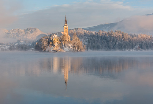 Lake Bled | by Dreamy Pixel