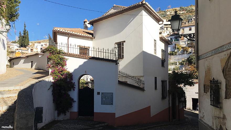 Barrio del Albayzín en Granada