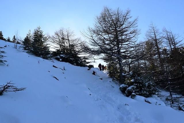 黒斑山 日帰り雪山登山