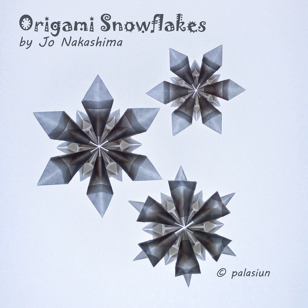 P71223 144104m Origami Snowflakes By Jo Nakashima Yout Flickr