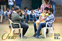 Chalo Movie Working Stills
