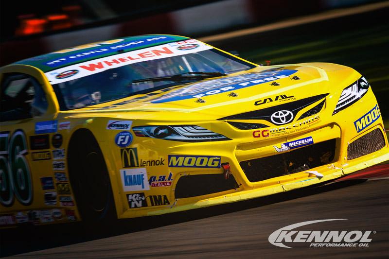 Great endurance performances shown by KENNOL oils in Euro NASCAR winter testing.