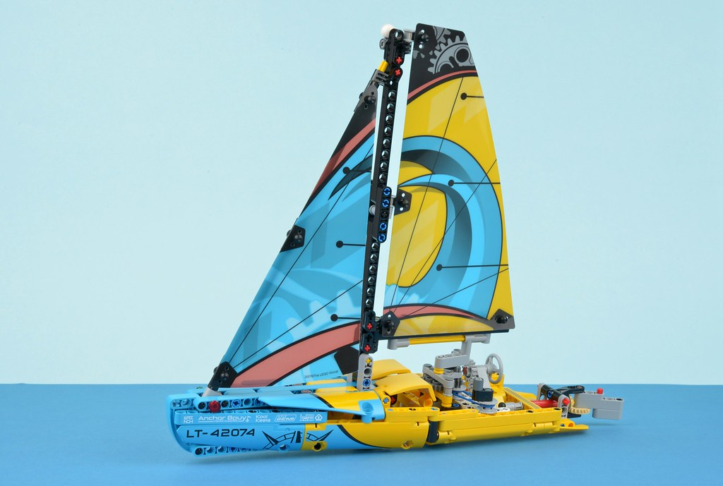 Lego Technic 42074 Racing Yacht Review Brickset Lego Set Guide