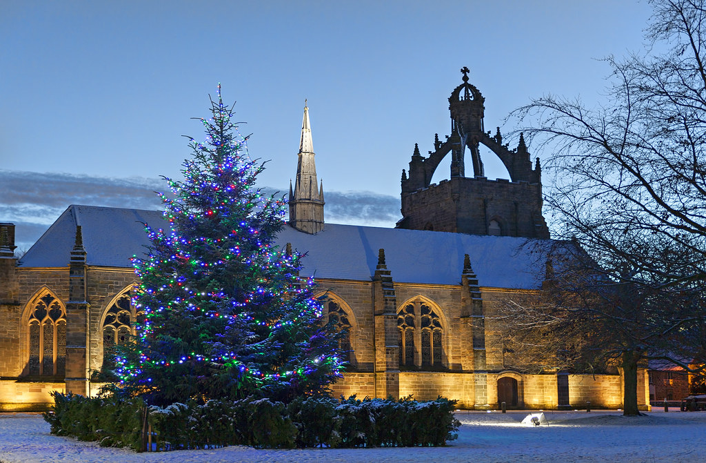Snowy Christmas at Kings College - Aberdeen | I had been wai… | Flickr