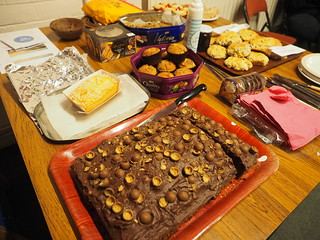 Great spread of cakes!