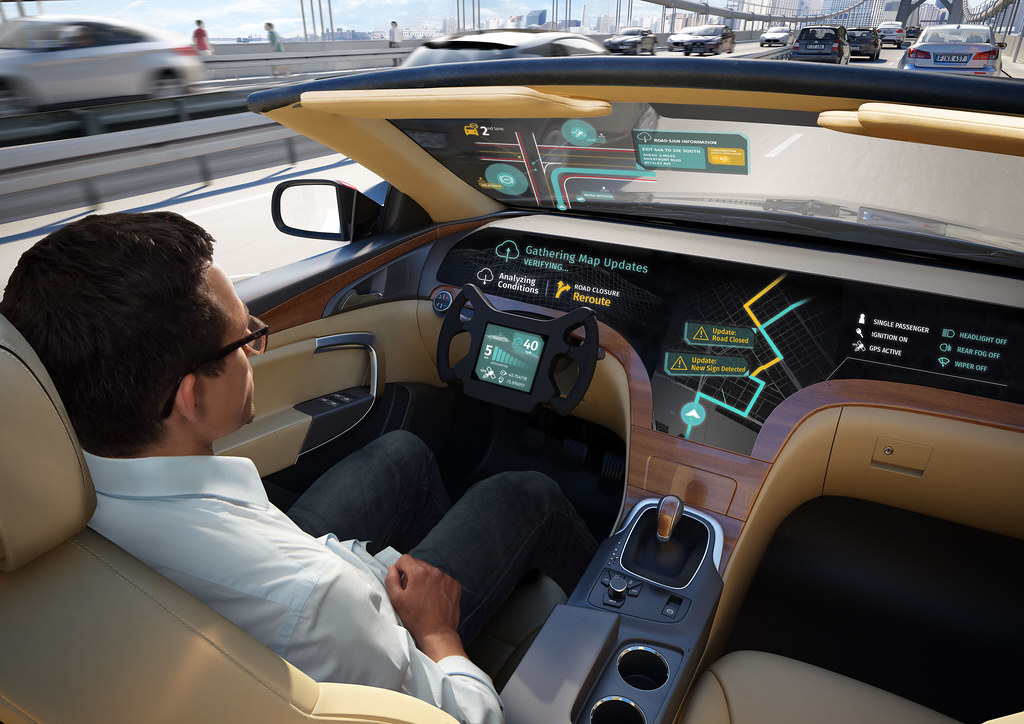 Automated Driving Cars Interior Design