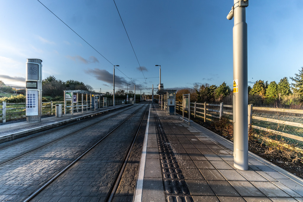LAUGHANSTOWN TRAN STOP IN DUBLIN 003