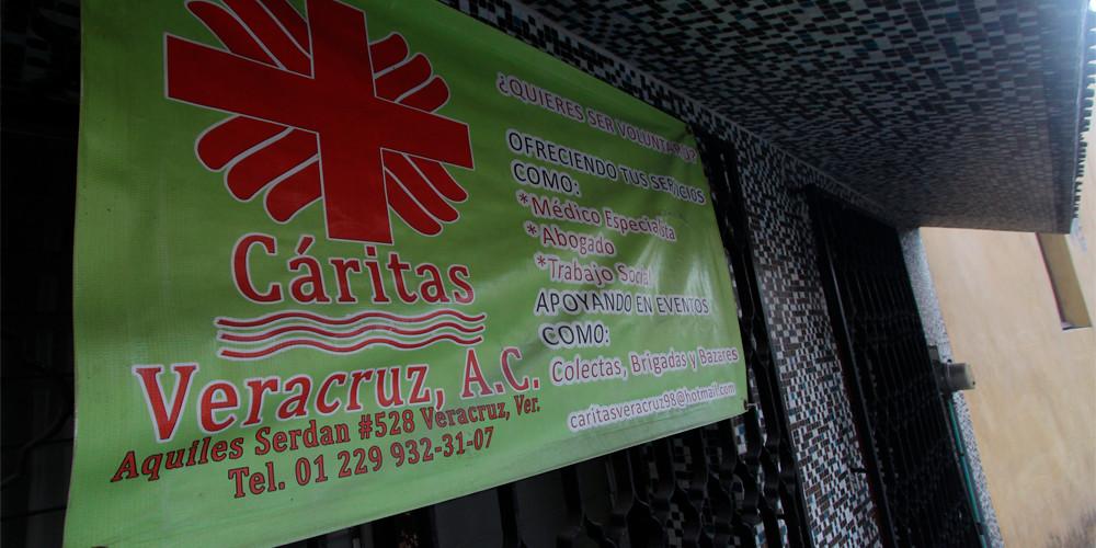 Cáritas Veracruz abre centro de acopio para ayudar a quienes están pasando por una crisis durante la pandemia