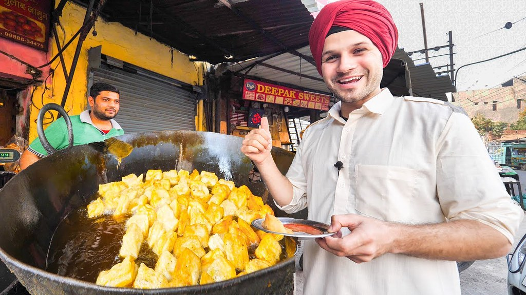 Indian Street Food Tour Deep In Punjab India Best Stree Flickr
