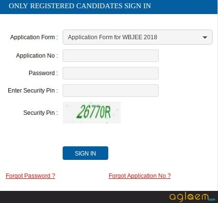 WBJEE 2018 Application Form Correction: Started, Last date   28 Jan