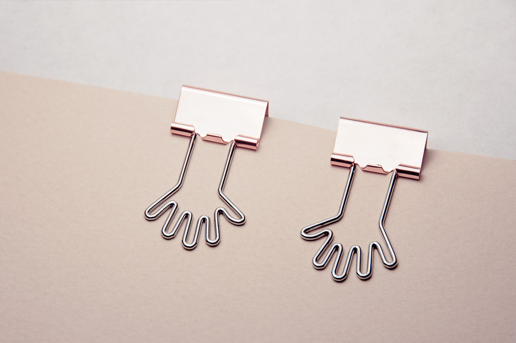 hug me binder clips