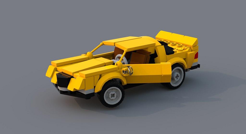 Lego Chevrolet Camaro Z28 1975 Multiversitymasterman Flickr
