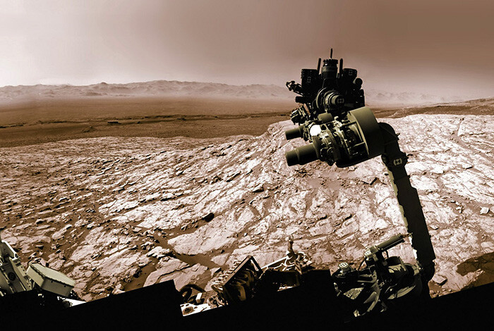 While earthlings take a break, the Mars rover keeps working