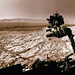 NASA's Curiosity rover raised robotic arm