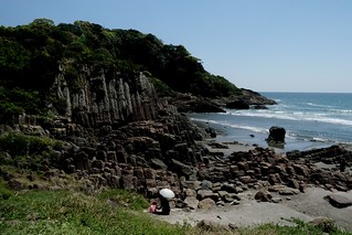 Columnar Rock Formation Beach (Hyuga, Hososhima, Japan) | by Free For Commercial Use (FFC)