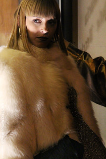 white furs vintage angelo