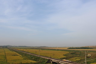 Railroad between Pyongyang and Kaesong | by Timon91