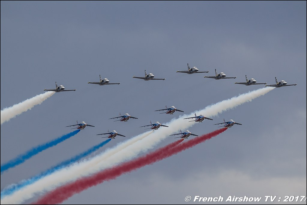 Patrouille Breitling Jet Team & Patrouille de France , Meeting de France 2017 , Dijon longvic , Bleuciel Airshow, meeting aerien dijon 2017 , Meeting aerien de France a Dijon