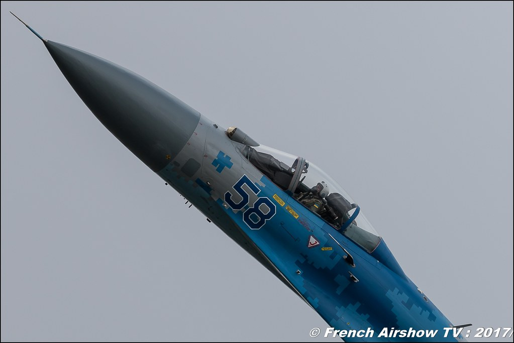Sukhoi Su-27 Flanker , Ukraine Air Force , Royal International Air Tattoo 2017 , Air Tattoo – RIAT 2017 , Fairford , UK Airshow Review 2017 , Meeting Aerien 2017