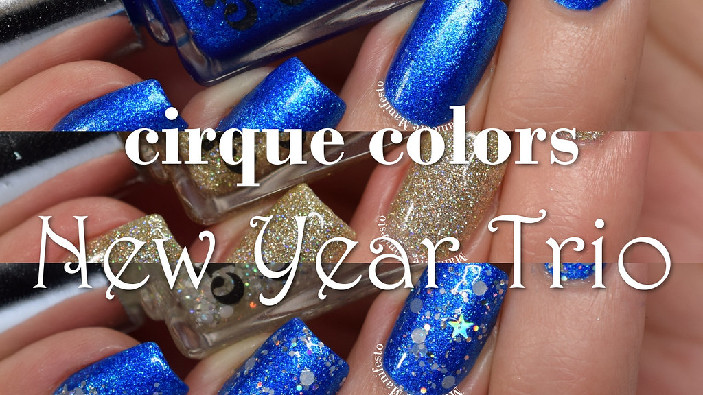 Cirque Color New Year Trio