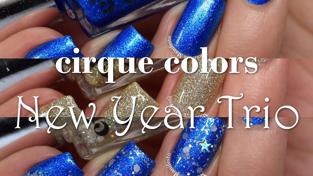 Cirque Color New Year Trio
