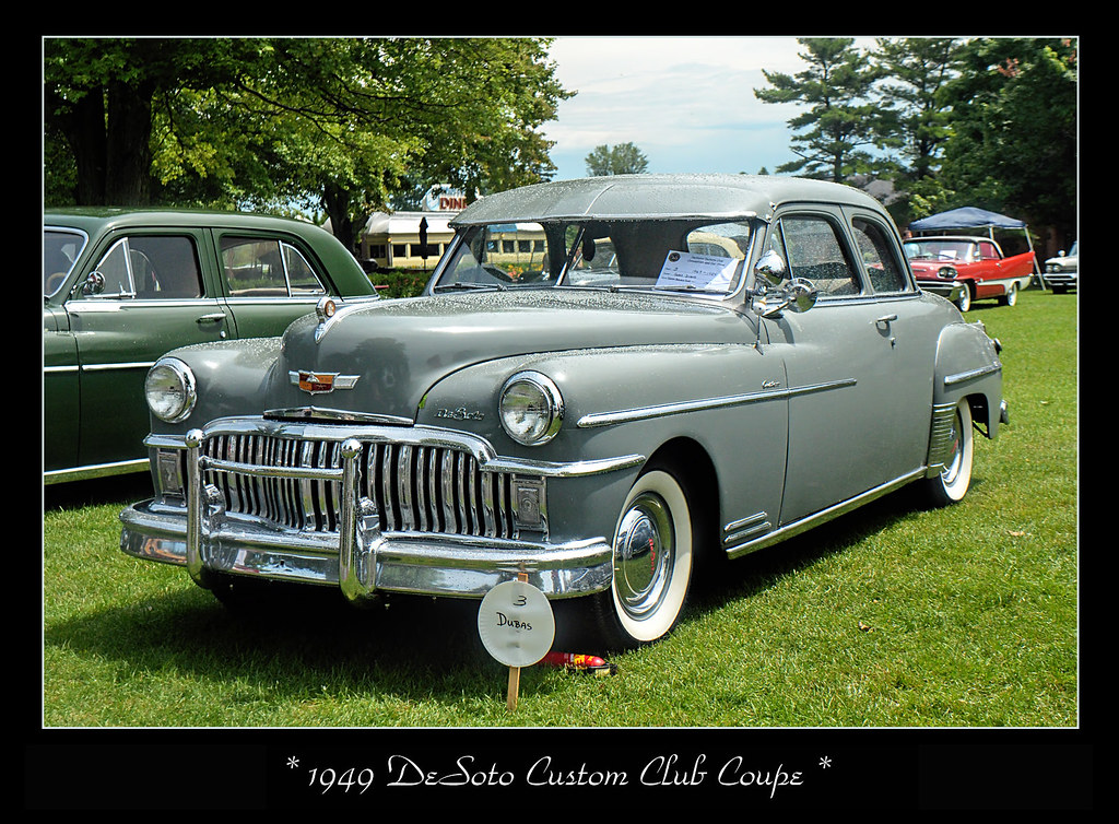 1949 Desoto Custom Club Coupe The July 18 2015 National