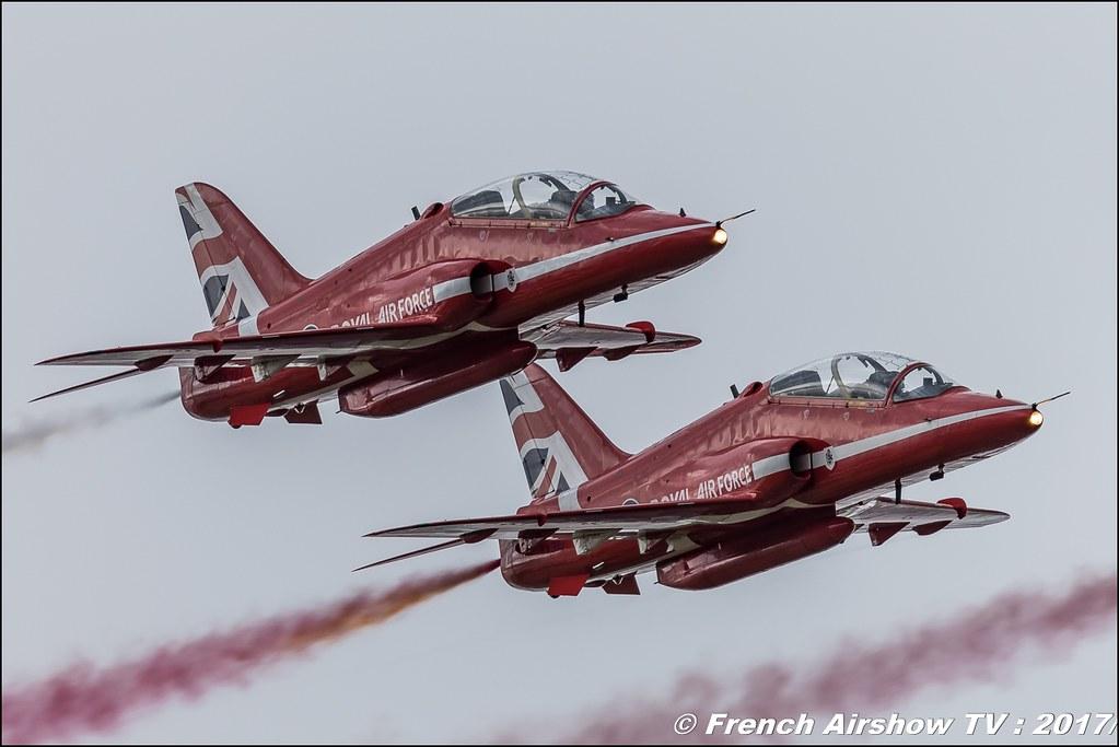 RAF Red Arrows , Royal Air Force Aerobatic Team , , Royal International Air Tattoo 2017 , Air Tattoo – RIAT 2017 , Fairford , UK Airshow Review 2017 , Meeting Aerien 2017
