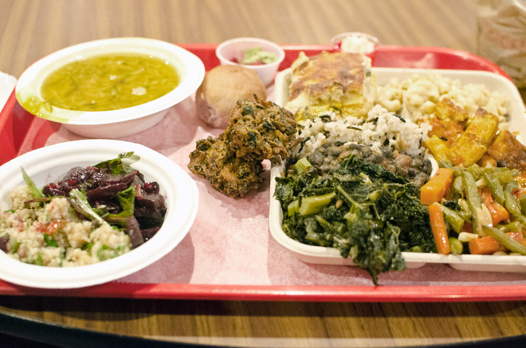 Image result for govinda's vegetarian nyc