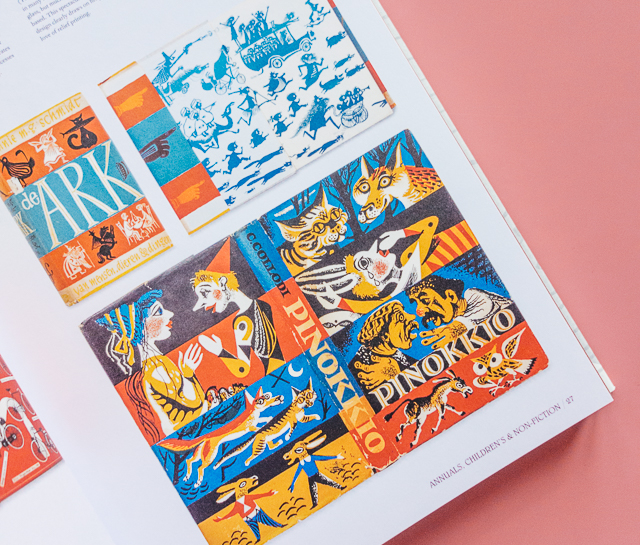 the illustrated dust jacket | pinokkio