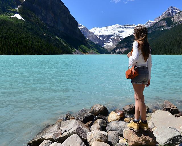 Lago Louise, de los lugares más increibles que ver en Canadá