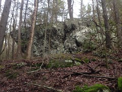 Large Rock with Overhang on East Jones Creek