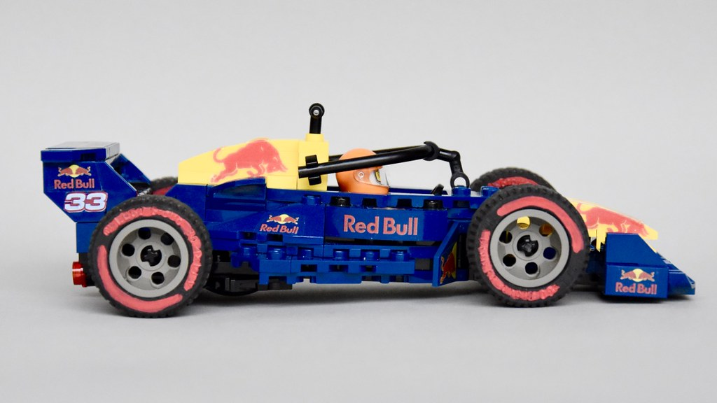 RB 14 2018 Lego Red Bull Racing Speed champions style MOC … | Flickr