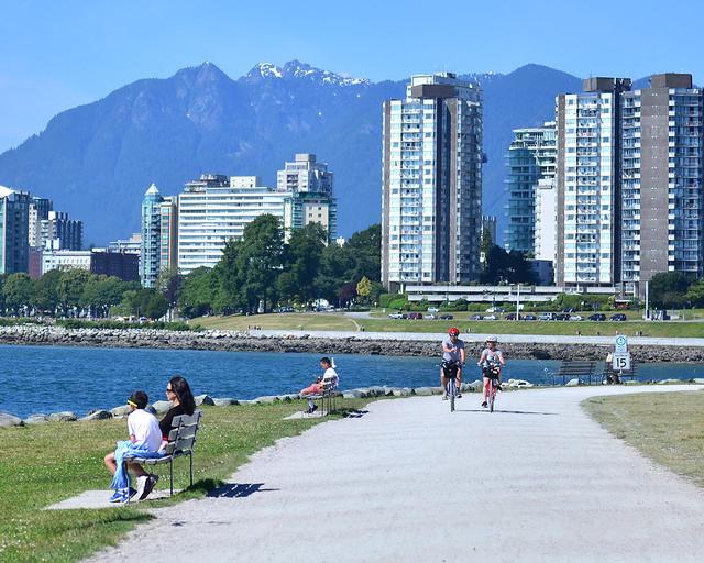 Bahía de Vancouver en Canadá