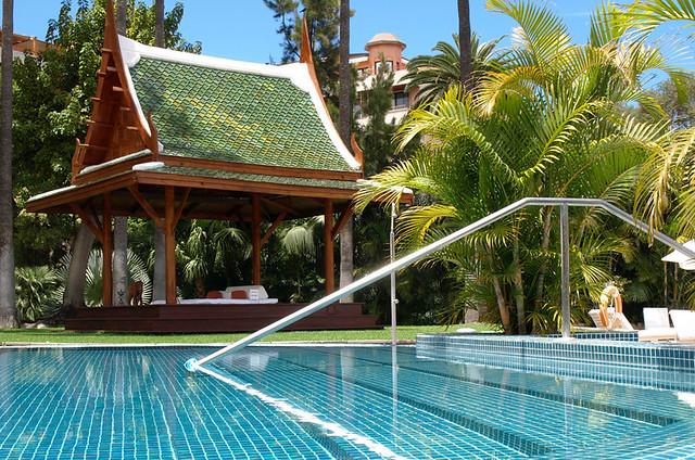 Swimming pool, Hotel Botanico, Puerto de la Cruz, Tenerife