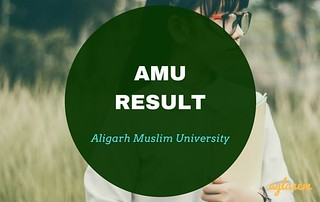AMU Result 2018   Check Results of Admission Tests