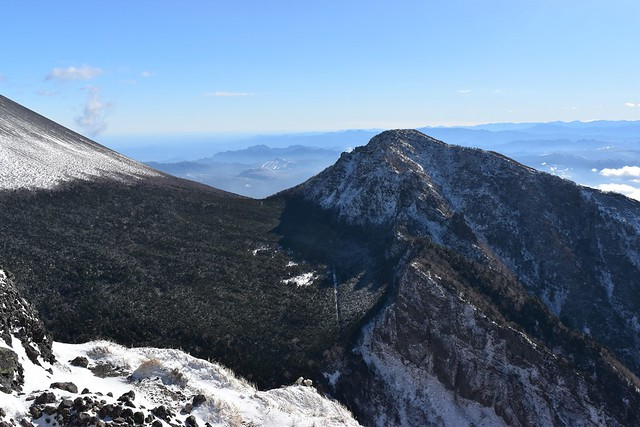 浅間山・剣ヶ峰