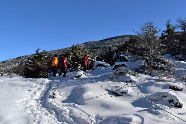 黒斑山(浅間山)日帰り雪山登山