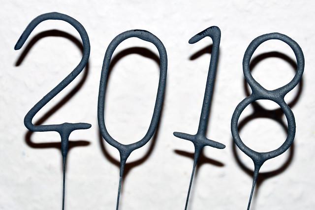 Silvester 2017 Neujahr 2018 ... Silvesterabend ... Lachscanapés - Feuerwerk ... Fotos: Brigitte Stolle