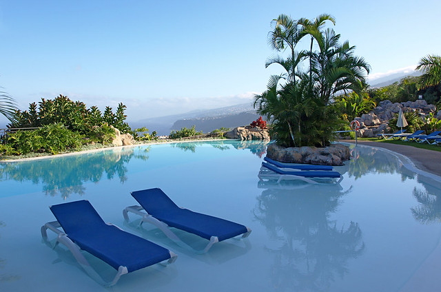 Swimming pool, Hotel Las Aguas, Puerto de la Cruz, Tenerife