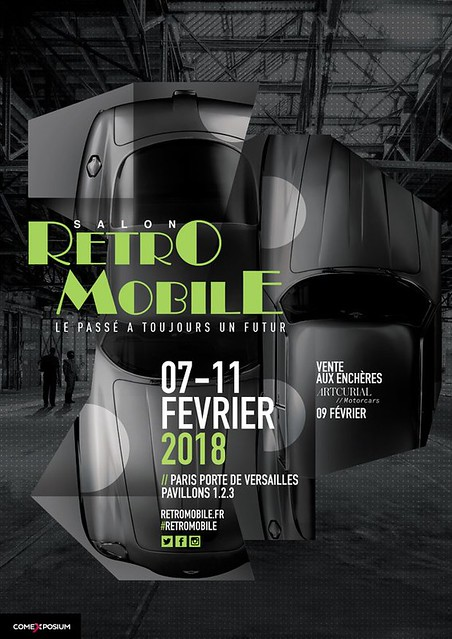 Salon Retromobile 2018 Paris 39435712342_bef25bd498_z