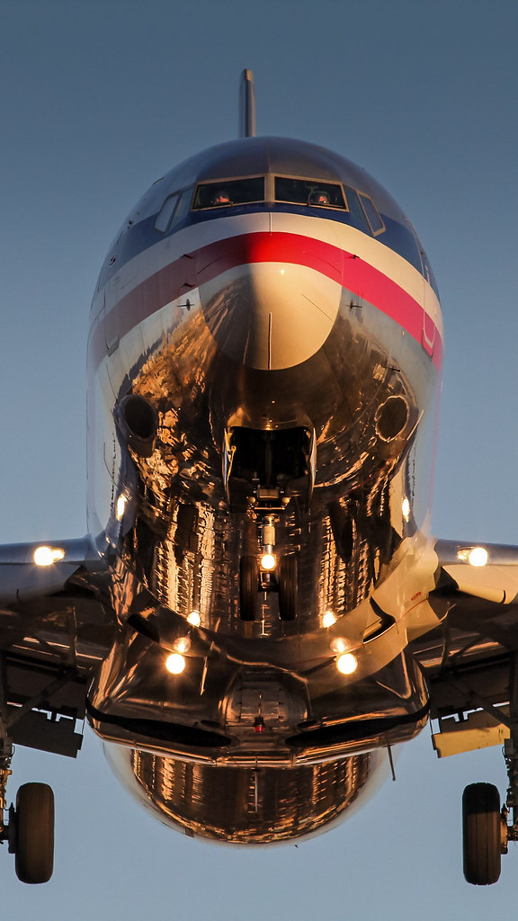 Phone Wallpaper American Airlines 737 At San Diego Flickr