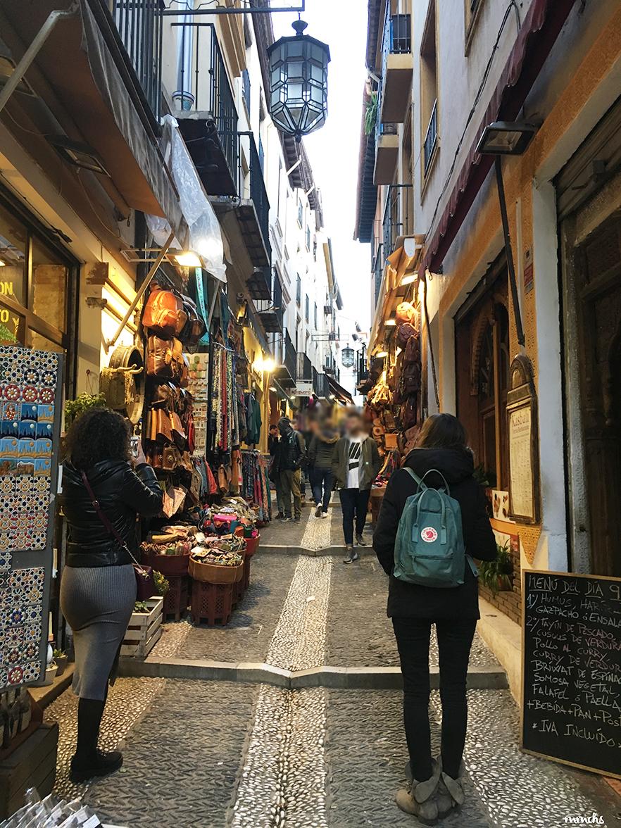 Calle Elvira en Granada