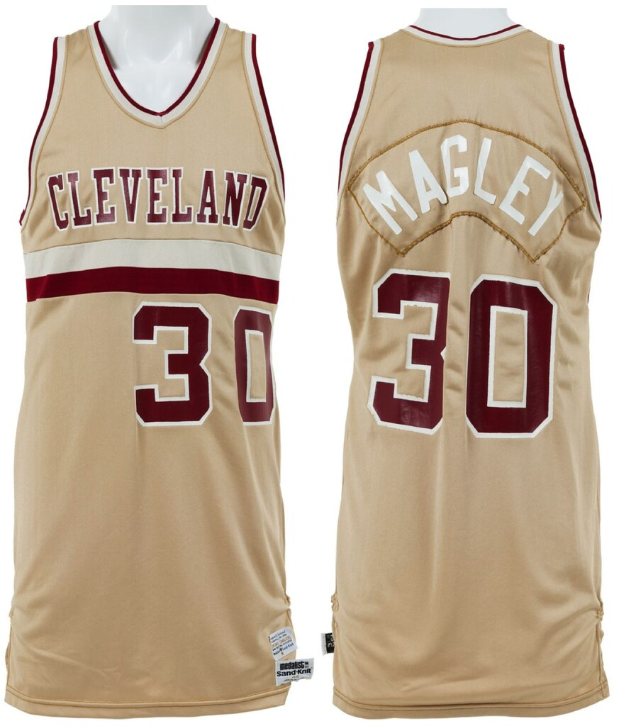 8420641a9e8 And unlike some teams that just wear yellow and call it gold, the  early-'80s Cavs really did wear gold — the home jerseys had a metallic  sheen:
