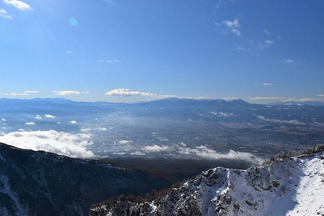 黒斑山登山 八ヶ岳の展望