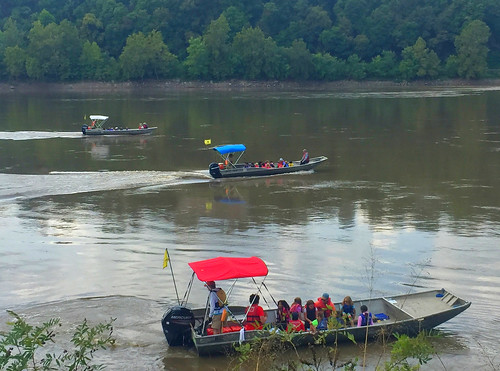 River Relief Fleet takes off