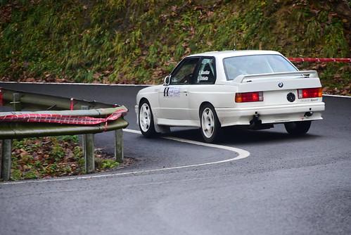 Iñigo Alustiza, BMW M3 E30, IV Subida a Erauskin 2017